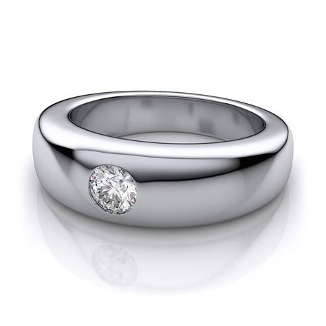 15 Inspirations of Gents Diamond Wedding Bands