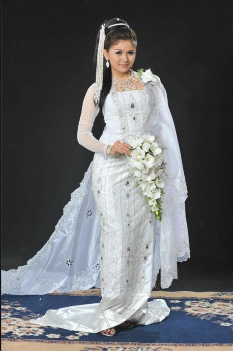 Traditional burmese wedding dress   MYANMAR   Pinterest