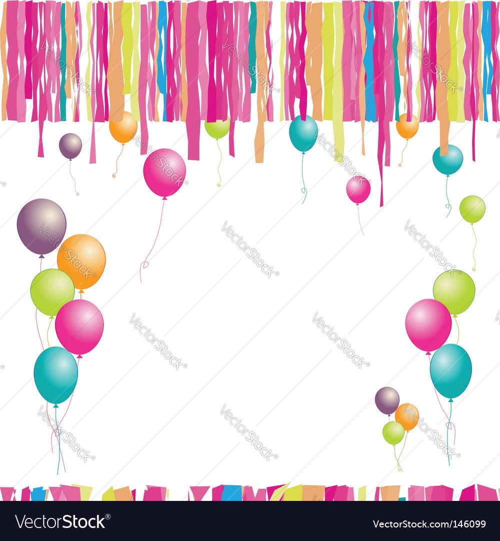 Birthday Clip Art Balloons. clipart birthday balloons.