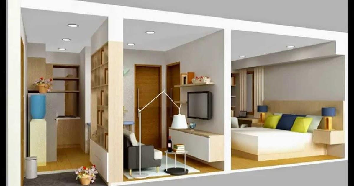 Desain Interior Rumah Kontrakan 3 Petak