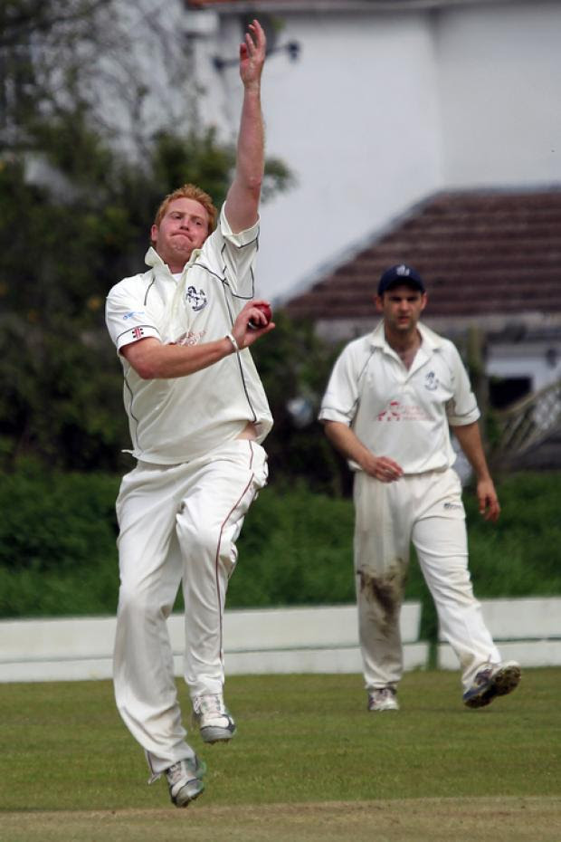 Horspath seamer Patrick Foster shone in their victory over Great Brickhill