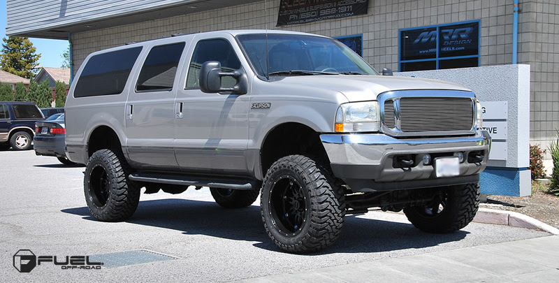 Car Ford Excursion On Fuel 1 Piece Hostage D531 Wheels California Wheels