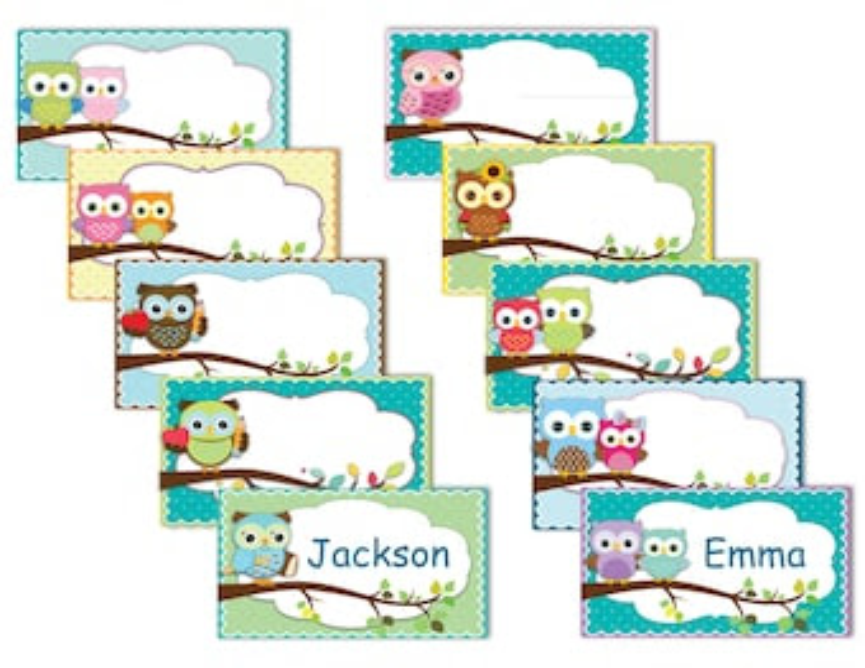 owl labels – Etsy