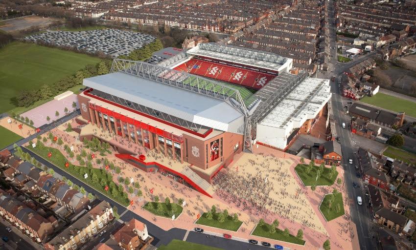 Anfield Stadium, Liverpool FC Sacred Headquarters - Traveldigg.com