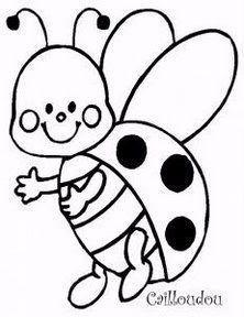Lady Bug Drawing At Getdrawingscom Free For Personal Use Lady Bug