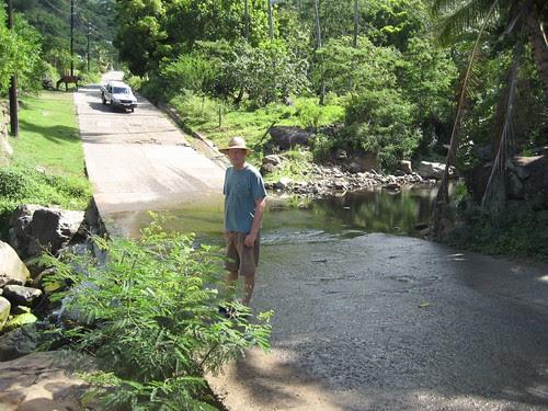 main highway across Nuku Hiva
