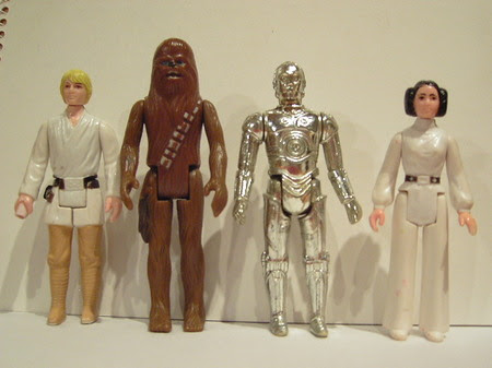Image result for leia action figures