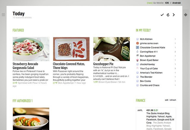 005 Feedly Today View