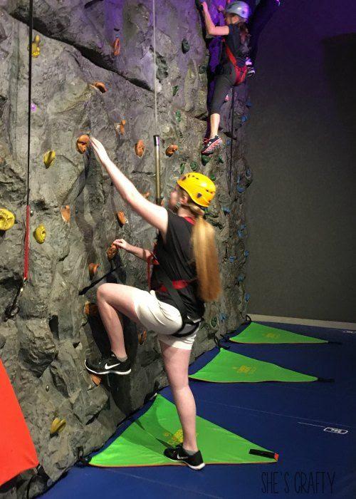 wonderworks, indoor rock climbing, fun things to do in gatlinburg