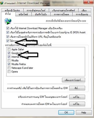 ตั้งค่า idm ให้สามารถใช้งานร่วมกับ Firefox