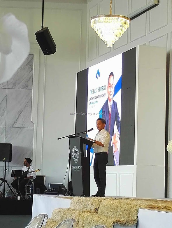 Majlis Farewell di Bora Ombak Putrajaya