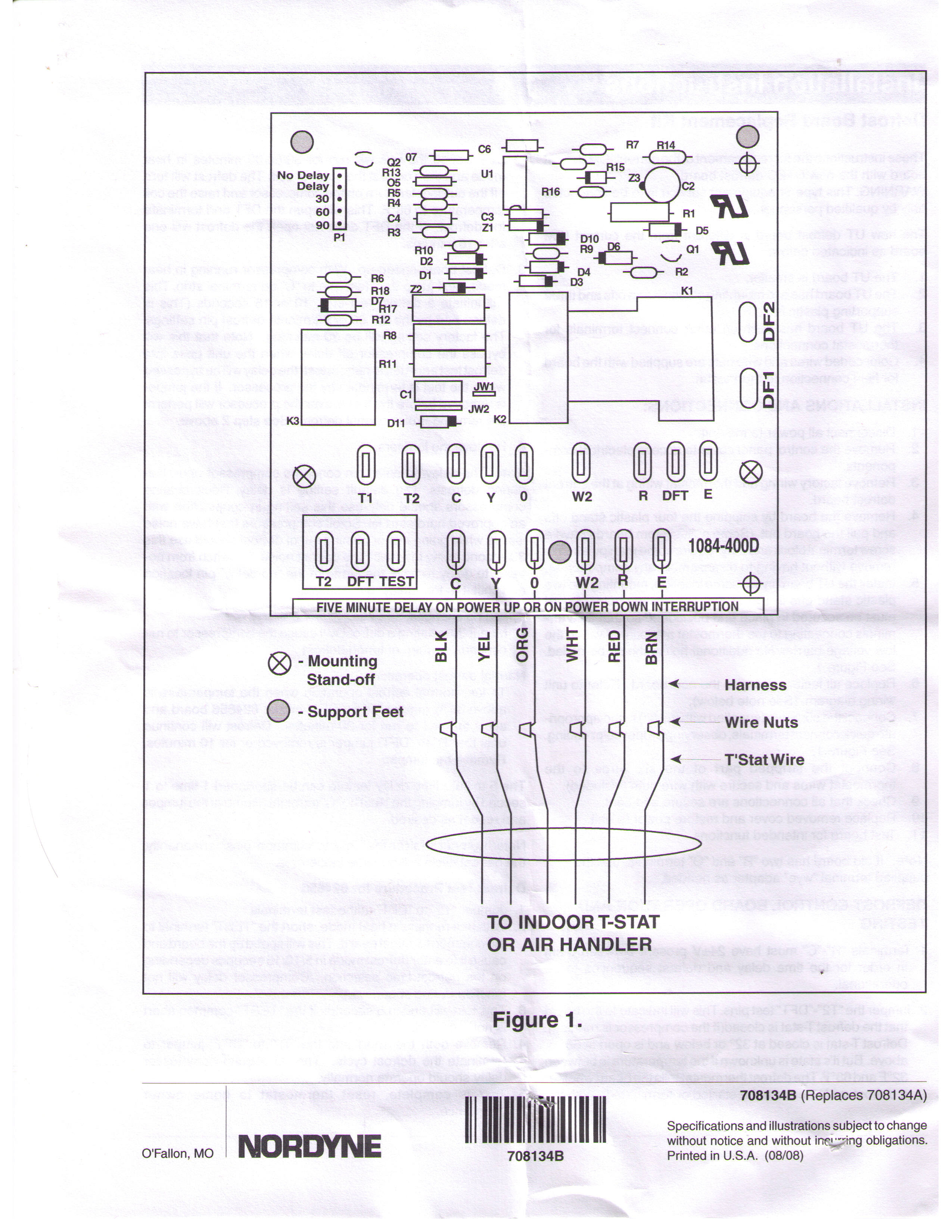 25 Awesome Nordyne Control Board Wiring Diagram on