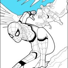 zum ausmalen spiderman ausmalbilder - malvorlagen