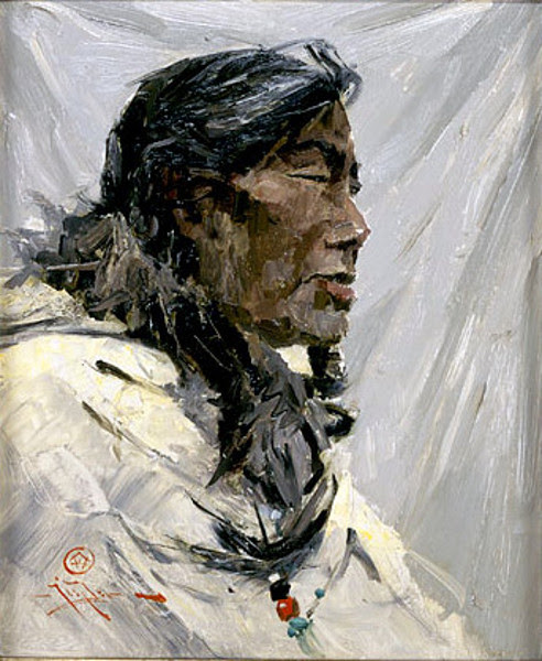 Eskimo Woman, Lower Kuskokwim