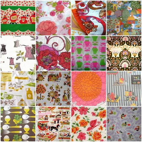 My creation *vintage fabric*