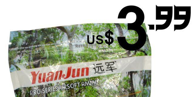 YUANJUN 0.2/0.25/0.28/0.3g BB Bullets Cost US$3.99