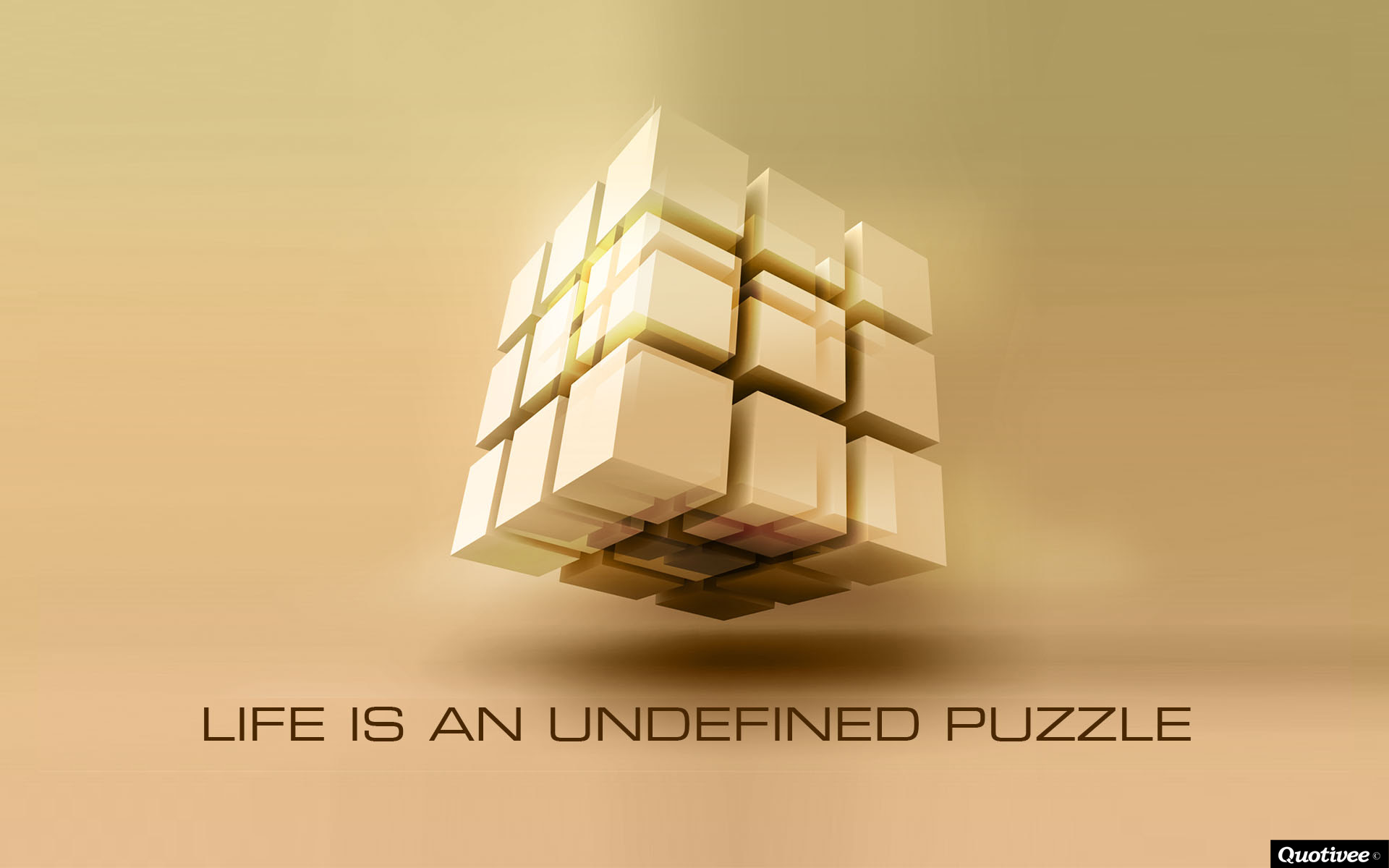 Life Is An Undefined Puzzle Inspirational Quotes Quotivee