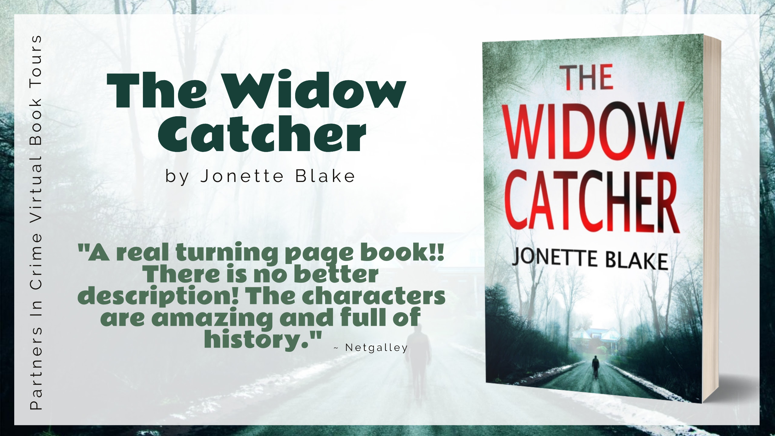 THE WIDOW CATCHER Banner