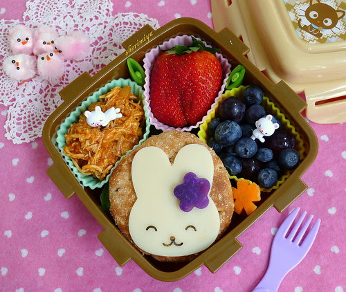 Easter Bunny BBQ Chickenwich by sherimiya ♥