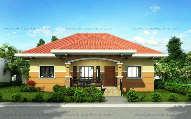 Small House Design: SHD2015010 Pinoy ePlans Modern House Designs, Small House Designs and More! - Brilliant Small House Front Elevation Ideas Home Design