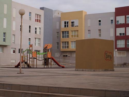 Deserted play ground, El Medano by i_noriyuki