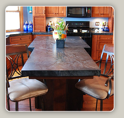Soapstone Countertops Robertson Kitchens Erie PA