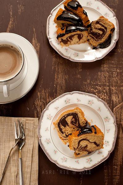 marble coffee cake
