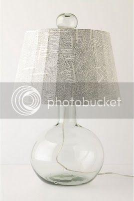 Dictionary Lamp