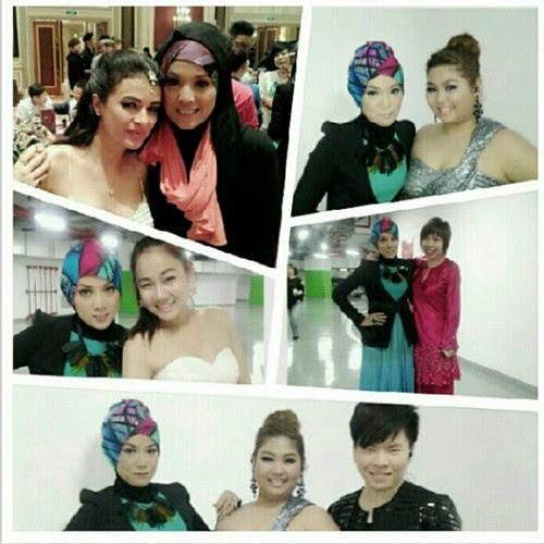 Gambar Shila Amzah bersama peserta & juri di Asian Wave. Credit @demoskitoz