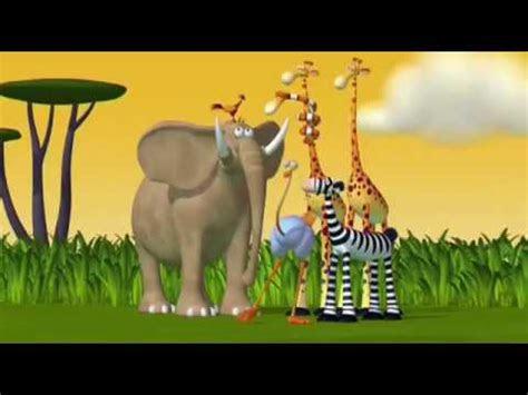 animasi kebun binatang lucu youtube