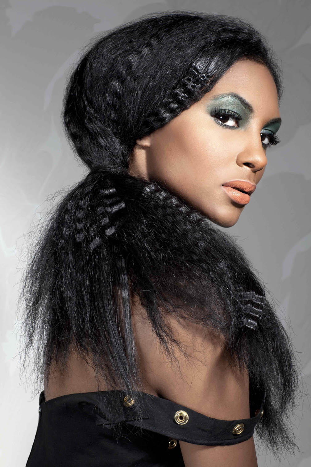 Crimped Hairstyles Are Fashionable