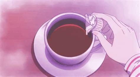 coffee anime gif coffee anime aesthetic discover