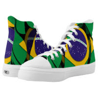 Brazil 1 printed shoes