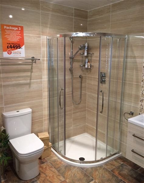 Ayrshire bathrooms delivered & installed from our Ayr showroom
