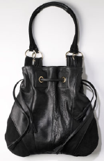 Carrie Valentine Relaxed Chic Handbag in Black