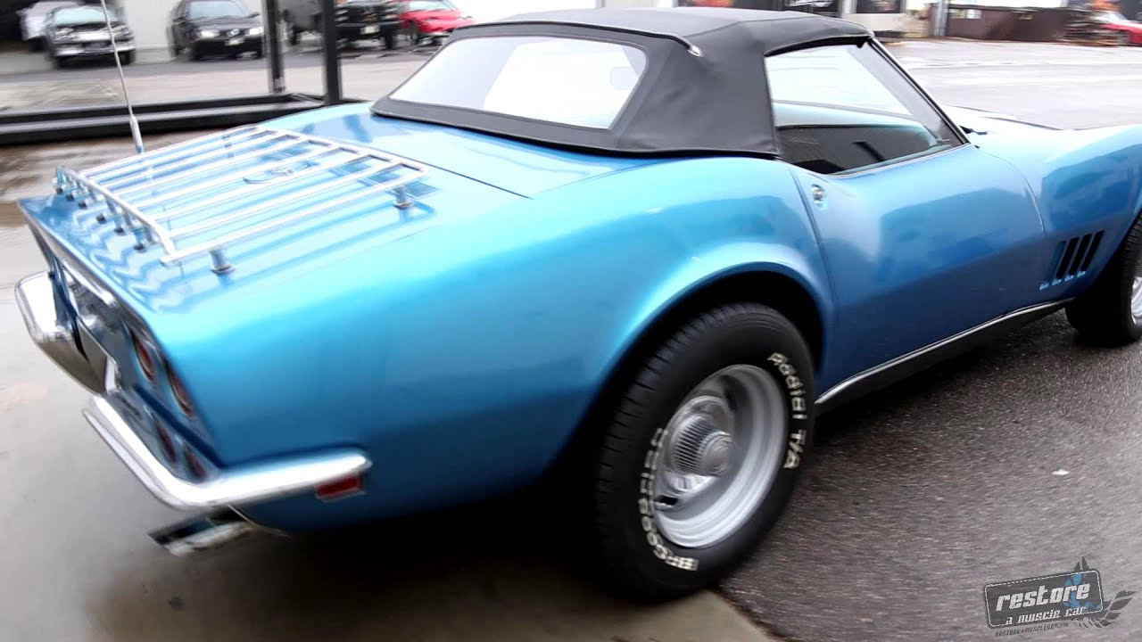 1968 Stingray Corvette Convertible W Hard Top For Sale Youtube