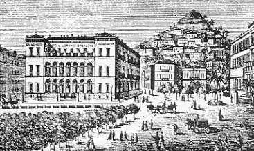 Hotel Grande Bretagne in the 19th Century