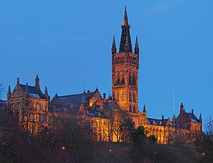 The Gilbert Scott Building at the University o...