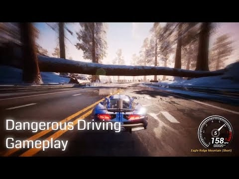 Dangerous Driving Gameplay