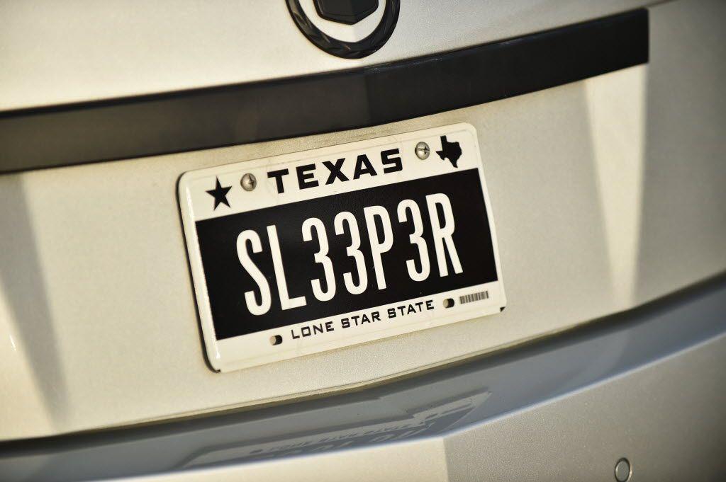 El Paso License Plate Renewal