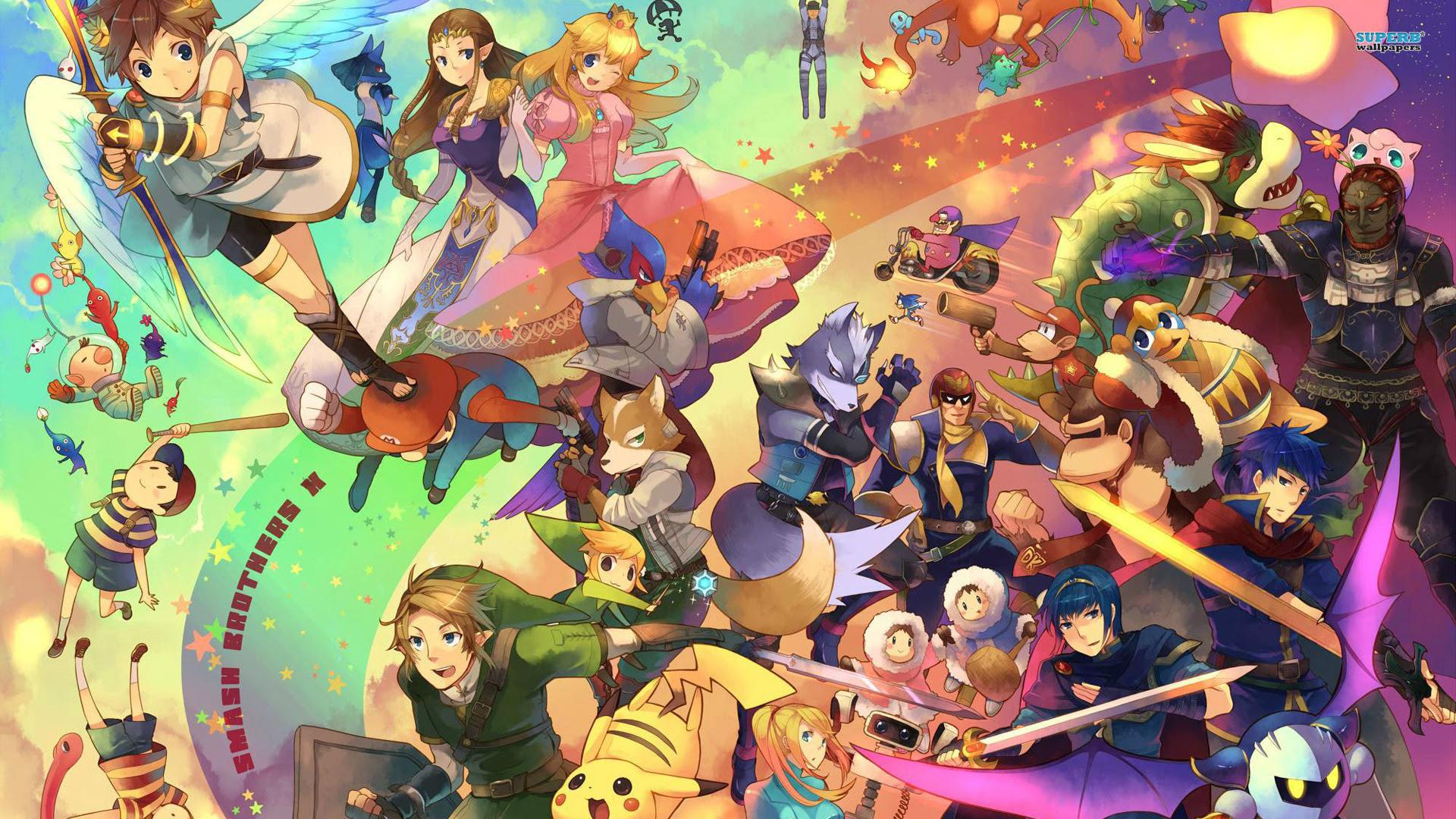 Super Smash Bros Wallpaper 1920x1080 52724