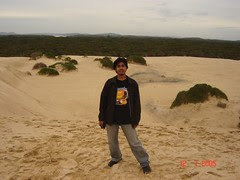 Padang Pasir Port Stephen, Australia
