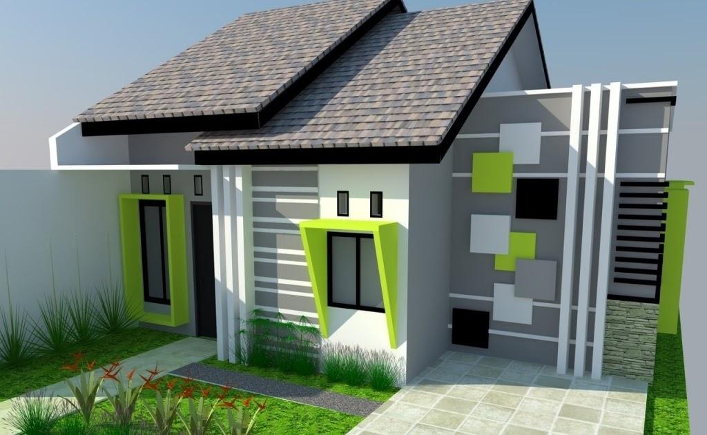 Cat Rumah Minimalis Hijau Lumut - Download Wallpaper