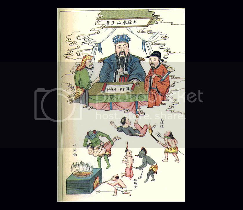 Chinese 10 Courts of Hell - Court 7