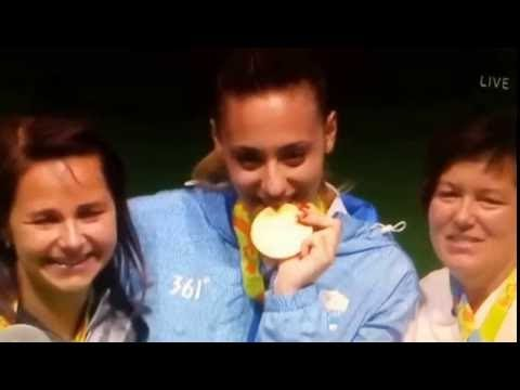 Άννα Κορακάκη: Απονομή Χρυσού στη Σκοποβολή!! Ακούστηκε και πάλι ο εθνικός μας ύμνος!