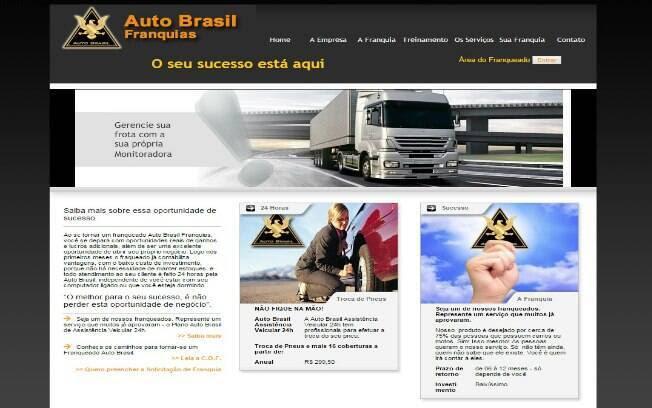 A Auto Brasil é uma franquia que comercializa rastreadores e bloqueadores automotivos, além de assistência veicular 24h - Valor de investimento: entre R$ 5,2 mil e R$ 7,5 mil. Foto: Divulgação