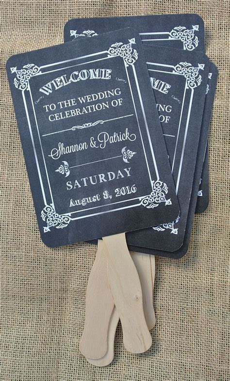 Wedding Fans, Wedding Favors, Rustic Wedding Fans