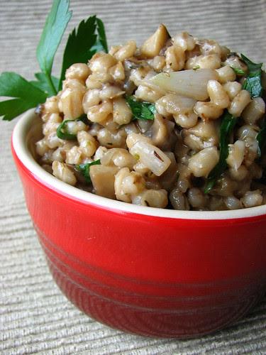 Hearty Mushroom Barley Salad II