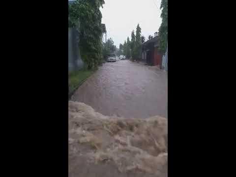 Banjir di Perumahan Cianjur