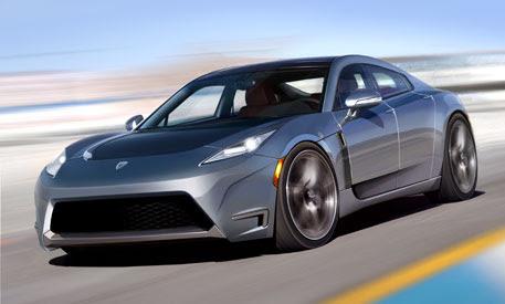 Tesla Releases Pictures of its Model S 4Door Sports Sedan
